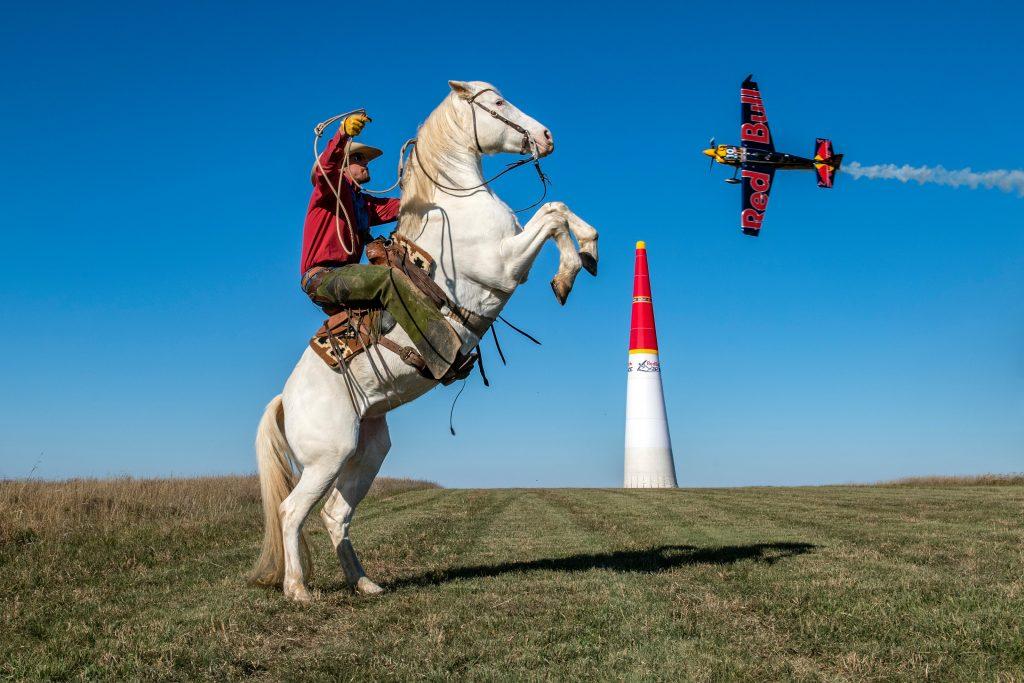 Horsepower meets horsepower