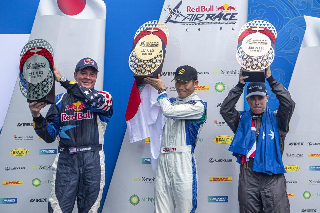 Yoshihide Muroya (JPN) (C), Kirby Chambliss (USA) (L), Matt Hall (AUS) (R)